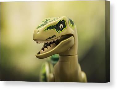 Velociraptor Canvas Prints