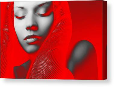 Jewelry Digital Art Canvas Prints