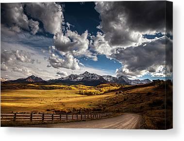 Brown Ranch Trail Canvas Prints