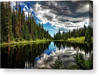 Rocky Mountains Canvas Prints