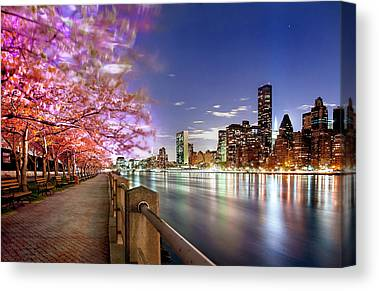 Roosevelt Island Canvas Prints