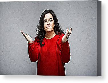 Rosie Odonnell Canvas Prints