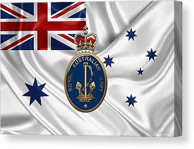 Royal Australian Navy Canvas Prints
