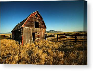 Rural Decay Canvas Prints