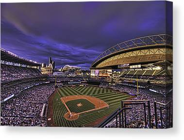 Seattle Mariners Canvas Prints