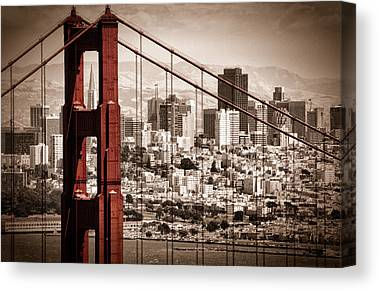 Golden Gate Canvas Prints
