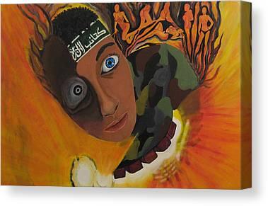 Jihadi Canvas Prints