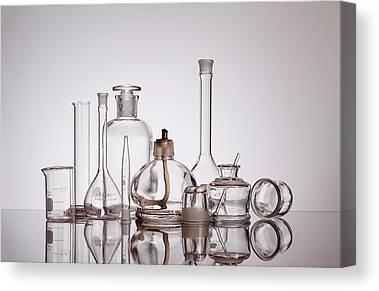 Medicine Bottles Canvas Prints