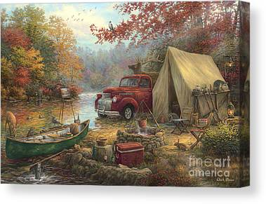Great Outdoors Paintings Canvas Prints