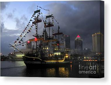 Tampa Bay Florida Canvas Prints