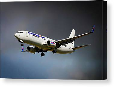Boeing 737-900 Canvas Prints