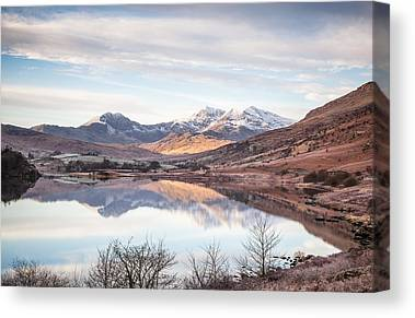 Wide Angled Glass Mirror Canvas Prints
