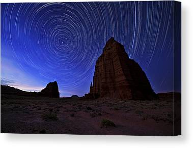The Night Sky Canvas Prints