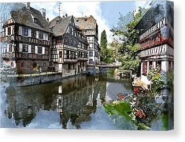River Ill Canvas Prints