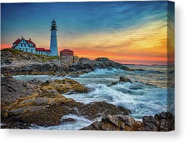 Gulf Of Maine Canvas Prints