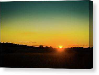 Sunset Horizon Canvas Prints