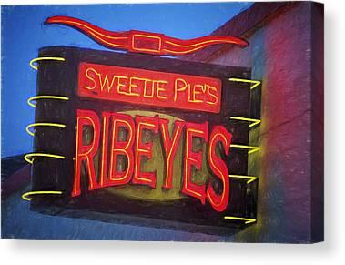 Ribeye Canvas Prints