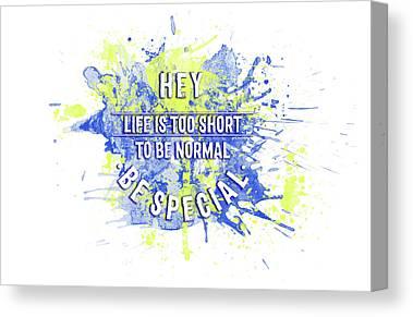 Normal Digital Art Canvas Prints