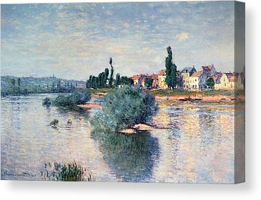 Seine River Canvas Prints