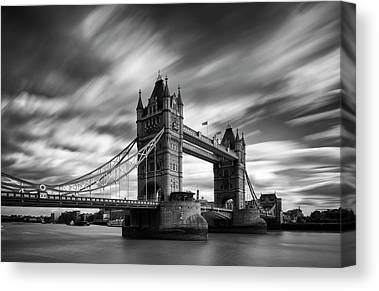 Tower Bridge London Canvas Prints