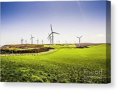 Clean Energy Canvas Prints