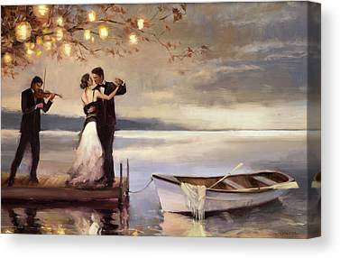 Romantic Canvas Prints