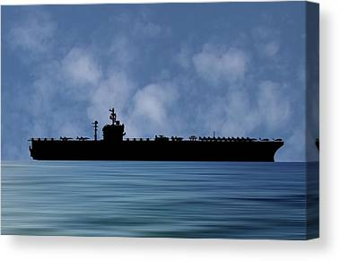 Uss George Washington Canvas Prints
