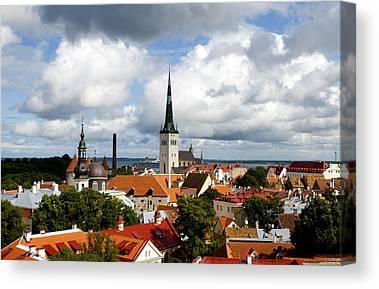 Tallinn Canvas Prints