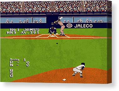 Bases Loaded Canvas Prints