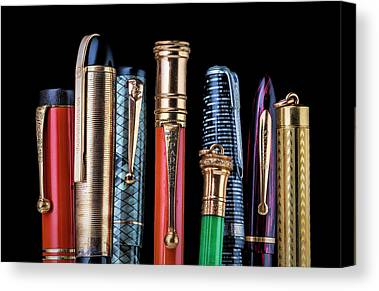 Ballpoint Pens Canvas Prints