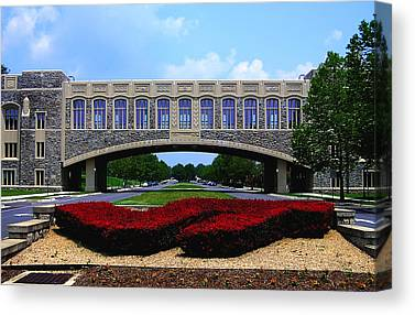 Virginia Polytechnic Institute And State University Virginia Tech Canvas Prints