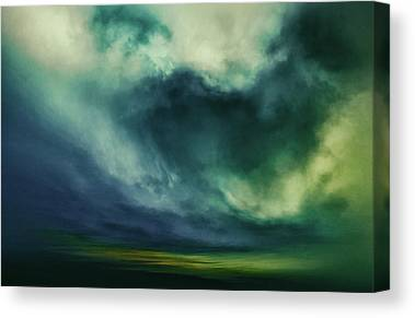 Viridian Canvas Prints
