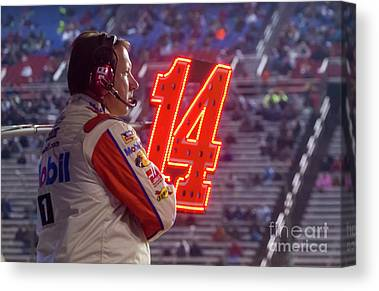 Stewart-haas Racing Canvas Prints