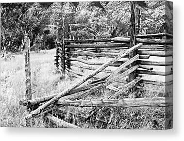 Ewing Snell Ranch Canvas Prints