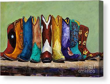 Boots Canvas Prints