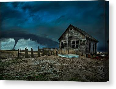 Barn Storm Canvas Prints