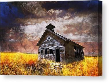 Country Schools Photographs Canvas Prints