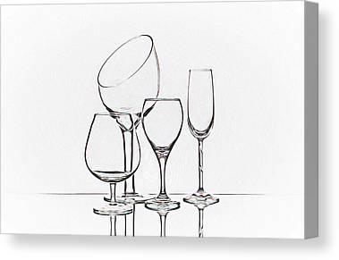 Wine Service Canvas Prints