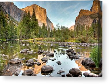 River Scenes Photographs Canvas Prints