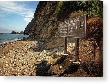 Santa Cruz Island Canvas Prints
