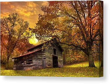 The Great Smoky Mountains Canvas Prints