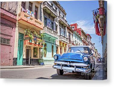Cuba Photographs Canvas Prints