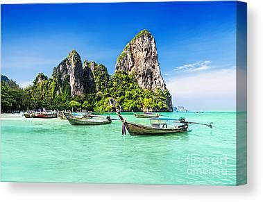 Phi Phi Island Photographs Canvas Prints