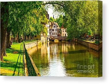 Alsace Canvas Prints