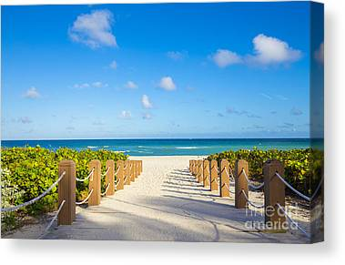 Florida Scenery Photographs Canvas Prints