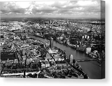 London Eye Canvas Prints