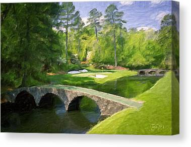 Augusta National Canvas Prints
