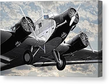 Ju 52 Canvas Prints