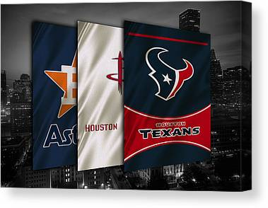 Houston Rockets Canvas Prints