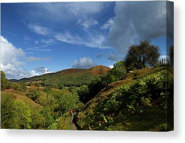 Church Stretton Canvas Prints